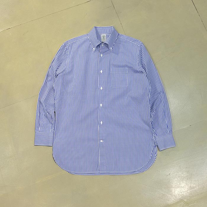 안토니오 라베르다  Antonio laverda by suit company oxford check shirt