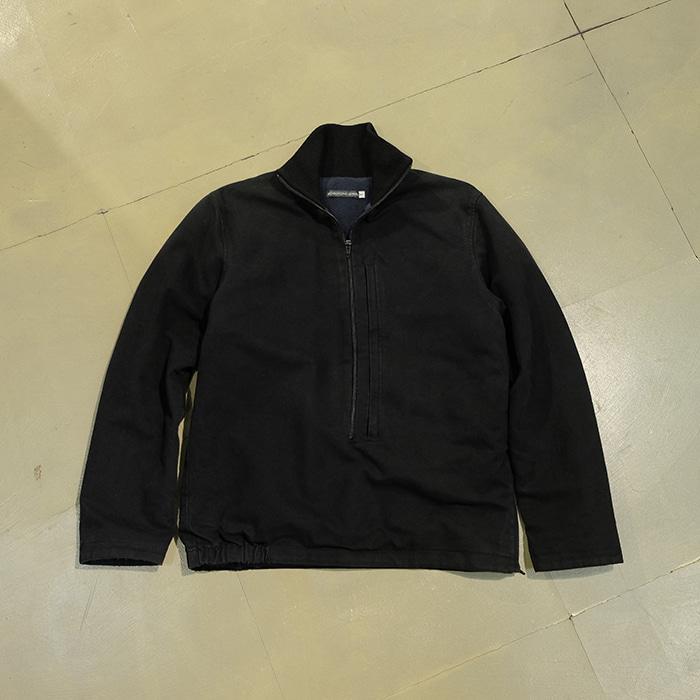 크리스토퍼 르메르 / Made in france  Christophe lemaire fleece linned zip up pull over