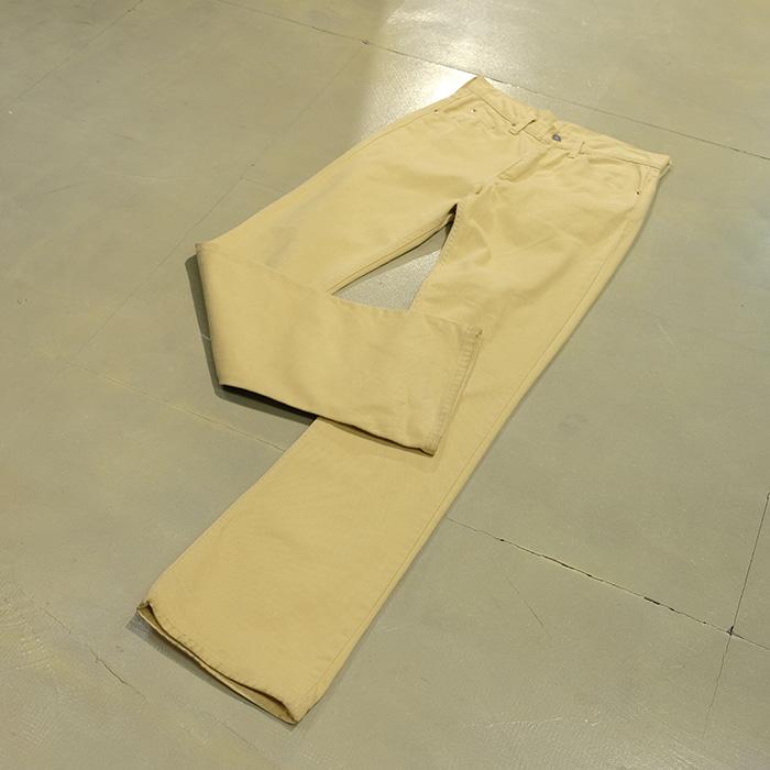 리바이스  Levis 517 white tab pants