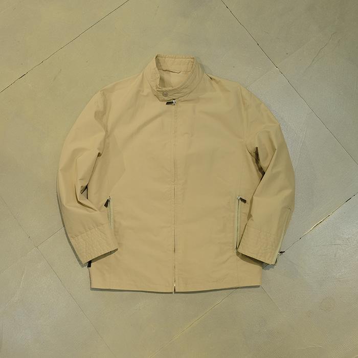 던힐 / Made in italy  Dunhill leather trim pocket blouson