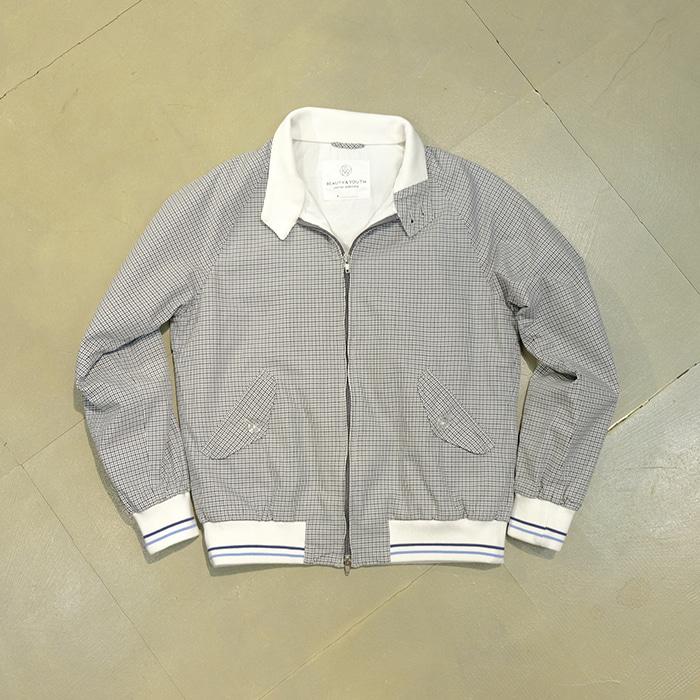 유나이티드 애로우즈  B&Y united arrows herrington check jacket
