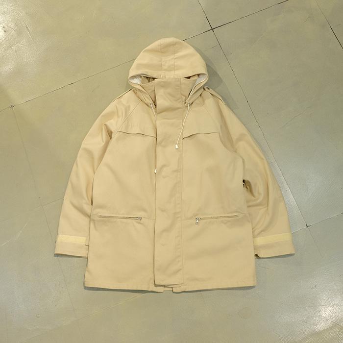 아페쎄 / Made in france  APC detachable linning hood parka coat