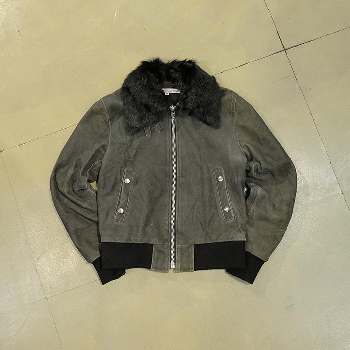 존 로렌스 설리반 / Made in italy  John lawrence sullivan sheepskin jacket